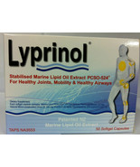 Lyprinol New Zealand Green Lipped Mussel Extract 50 Capsules Joint Support - $55.90