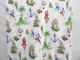 Company Kids Treasure Pirates Caribbean Boats 2-PC Twin Duvet and Fitted... - $40.00