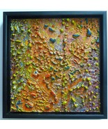 Celestial Surface-Encaustic Original  Painting - $480.00