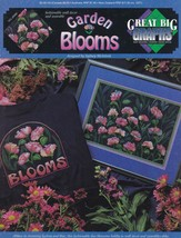 Garden Blooms, Cross Stitch Pattern Booklet GBG VCL-20065 Home Decor & W... - $4.95