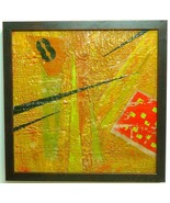 8 Times Luck-Encaustic Original  Painting - $435.00