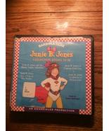 Junie B. Jones books 13-16  on CD Gushy Valentine Peep Pocket Captain fi... - $9.95