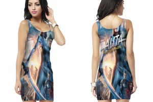 Alita battle angel bodycon dress