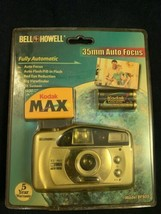 Vintage Bell + Howell 35 mm Fully Automatic Camera With Film BF-905 NOS ... - $18.33