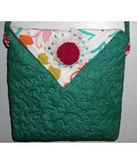 Handmade and Quilted Purse Handbag Original Des... - $14.95