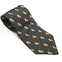 "Bill Blass Black Label Men's Tie, 3.75"" X 58"" Necktie, Diamond Print - $8.06"
