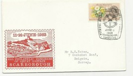 TRADE PRICE STAMPS SCARBOROUGH 1963 PHILATELIC CONGRESS COVER - $3.73