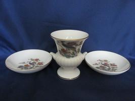 "Wedgwood English Bone China ""Kutani Crane"" Items - Lot of Three - $12.99"