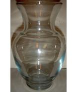 Vintage Clear Glass Forcing Vase / Jar - $10.00