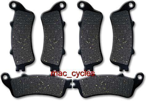 Honda Disc Brake Pads ST1100AN Pan European 1996-1997 Front & Rear (3 sets)