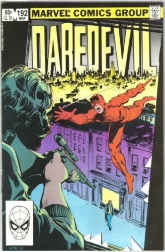Daredevil Comic Book #192 Marvel Comics 1983 VERY FINE+ NEW UNREAD