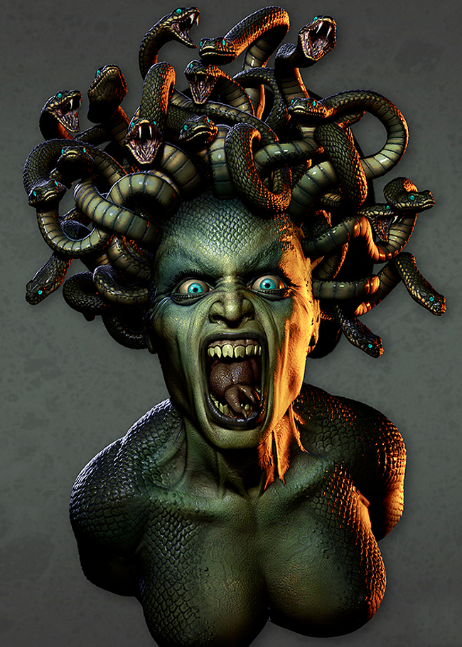 Primary image for Haunted Binding of MEDUSA hell on Wheels be a POWER TO BE RECKONED WITH