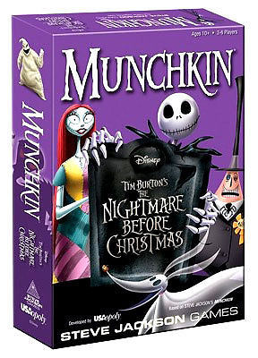 munchkin the nightmare before christmas and 50 similar items munc - Nightmare Before Christmas Board Game