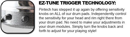 Pintech 4PC Electric Drum Pad Bundle and 50 similar items