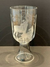 Kosta Boda Fabulous Limited Edition 4/100 Etched Vase Designed by Harald Wiberg - $249.00