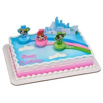 Powerpuff Girls The Day is Saved Cake Decorating Set - $11.42