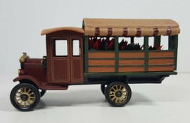 "Department 56 Heritage Village Collection ""Poinsettia Delivery Truck""  #... - $24.00"