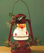 Seasonal Lighted Santa Lantern - $18.75
