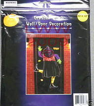 1 Crashed Witch Wall or Door Halloween Decoration NEW - $3.99