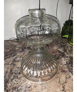 VTG P&A MFG Clear Glass Oil Lamp  - $58.00