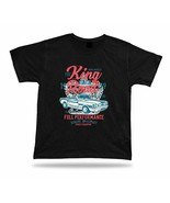 The king of the road vintage car stylish birthday tshirt tee design apparel gift - $7.57