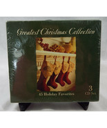 Greatest Christmas Collection 3 CD Set 45 Holiday Favorites New Sealed - $25.54