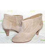 """❤️ KELSI DAGGER Sand Kid Suede Leather 2.75"""" Heel Ankle Boots 8.5 M NEW!... - $33.24"""