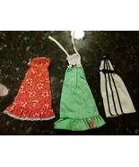 3 Vtg Barbie Mod 70s Best Buy Fashion #9619 Red #9620 Green & #9961 Whit... - $49.90