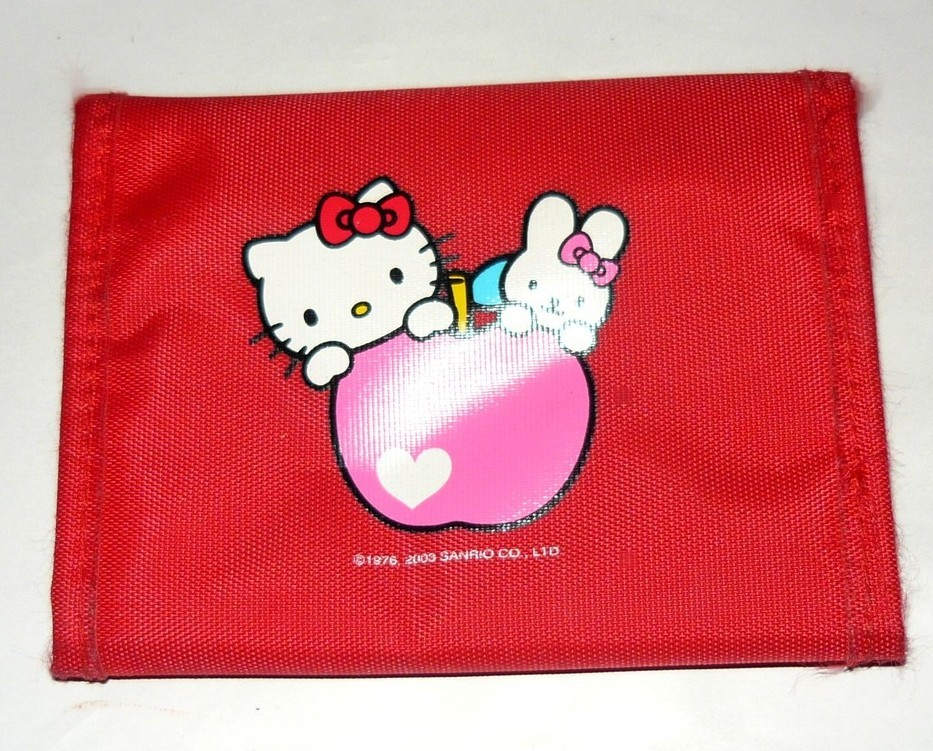 FREE WITH PURCHASE~ Hello Kitty Red Wallet