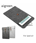 AIGREEN® Handbag Sleeve Case Ipad Air 1/2Wool Felt Bag Ipad Pro Soft Qua... - $13.70