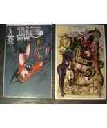 TAROT WITCH OF THE BLACK ROSE 76 A B COVER LOT BROADSWORD BALENT #76 - $22.03
