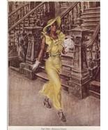 Reginald Marsh. High Yaller. New York City. Vintage 1939 print. 8 X 11 - $28.42
