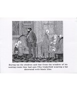 "Edward Gorey. Pen and Ink illustration from ""The Other Statue"". postcard... - $6.44"