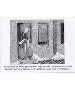"Edward Gorey. Pen and ink illustration  from ""The Green Beads"". postcard... - $6.44"
