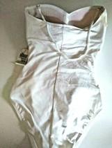 La Blanca White One Piece Swim Wear Size 4 image 2