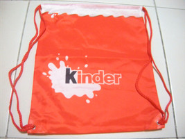 Kinder Chocolate Drawstring Bag - $8.90