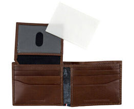 Tommy Hilfiger Men's Logan Bifold Zipper Coin Credit Card ID Wallet 31TL220036 image 3