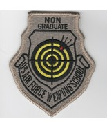 USAF AIR FORCE WIC FIGHTER WEAPONS SCHOOL NON GRADUATE EMBROIDERED JACKE... - $18.99