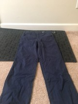 Faded Glory Kids Casual Pants Sz 14 Blue Clothes NWT - $21.78