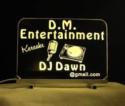 Personalized DJ Karaoke LED Bar Sign  image 8