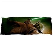 dakimakura body hugging pillow case cover yoda - $36.00
