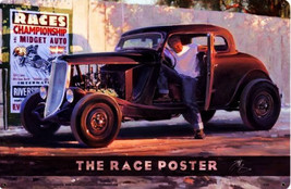The Race Poster Metal Sign - $30.00