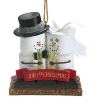 Midwest-CBK S'Mores 'Our 1st Christmas' Resin Christmas Ornament - $9.46
