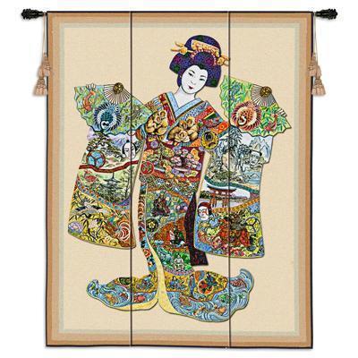 Bcwall hanging geisha  4527
