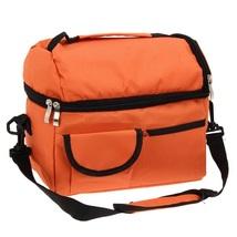 (orange)8L Square Thermal Bag Women Men Lunch Bag Cooler Beam Port Lunch... - $34.00