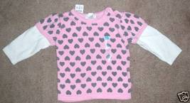THE CHILDRENS PLACE Girls knit Sweater Size 6/9 Mos.NEW - $8.19