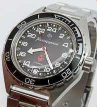 Vostok Komandirskie 650541 Automatic 24 Hours Russian Military Wristwatch  - $79.99
