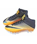 Nike Vapor Speed 2 Black Yellow Men's Football Cleats Size 15 NWT FREE P... - $24.28