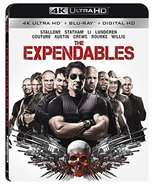 The Expendables [4K Ultra HD + Blu-ray + Digital HD] New - $11.96