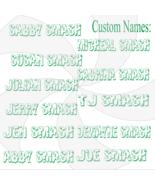 Pick up to 6 Custom Hulk Smash Names-Digital ClipArt-Jewelry-Name Tag-T ... - $4.99